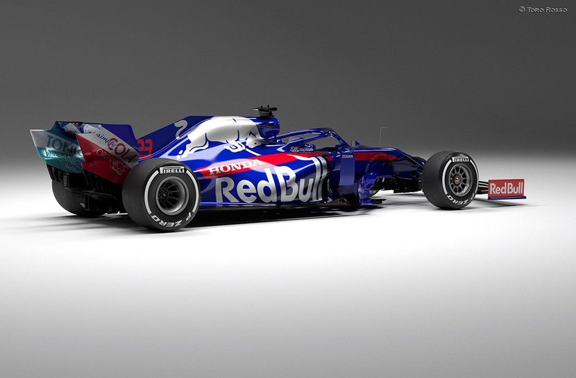 Rear of STR14