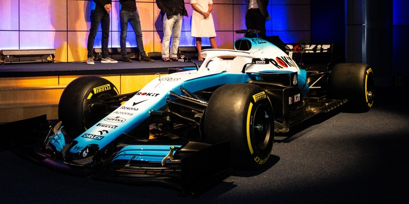 Front of the FW42