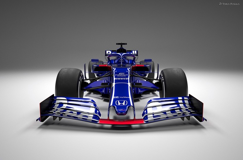 Front view of STR14